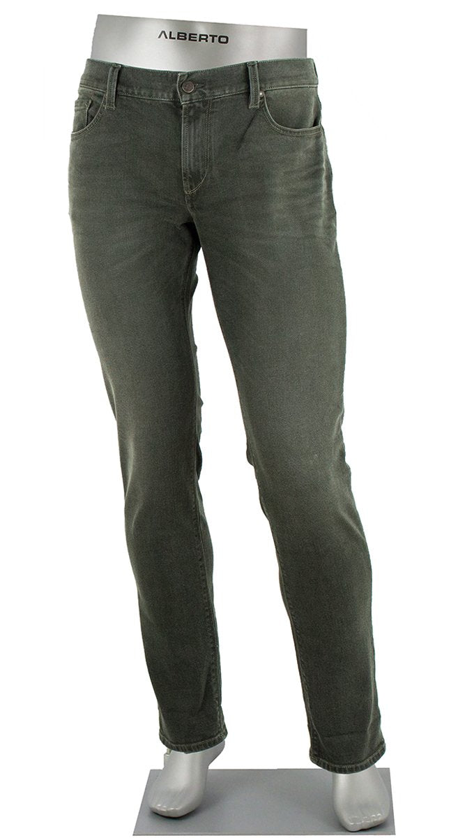 STONE VINTAGE DENIM HUNTER GREEN