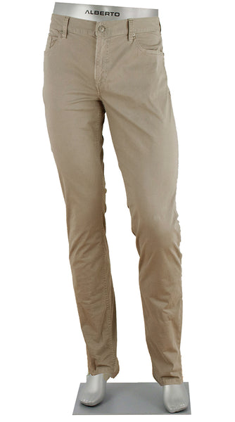 PIPE COTTON STRETCH TAN
