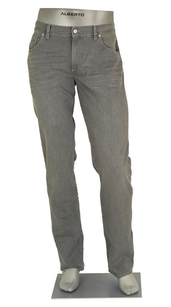DENIM PIPE SUPER STRETCH LIGHT GREY