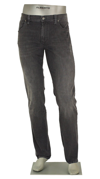 DENIM STONE SUPER STRETCH CHARCOAL