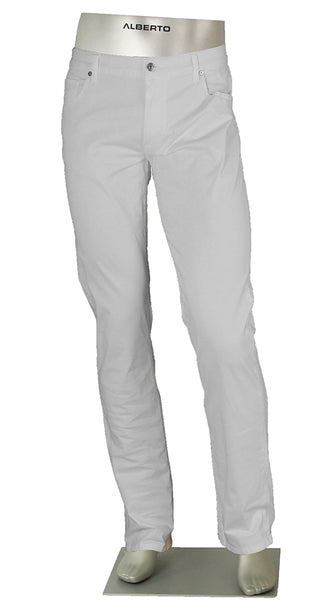 ALBERTO JEANS STONE SUPER STRETCH COTTON WHITE ST1503-100