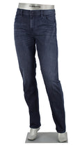 ALBERTO JEANS DENIM STONE SUPERFIT DUAL FX MED BLUE ST1684-880 1684