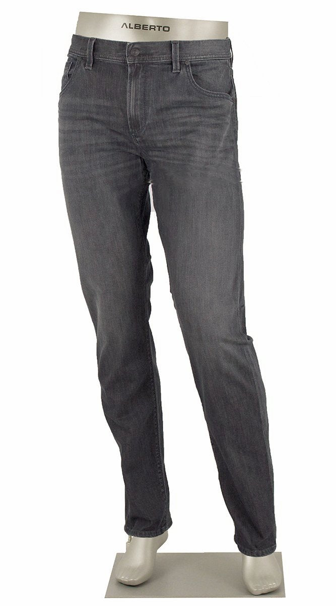 ALBERTO JEANS DENIM STONE SUPERFIT DUAL FX GREY ST1684-990 1684