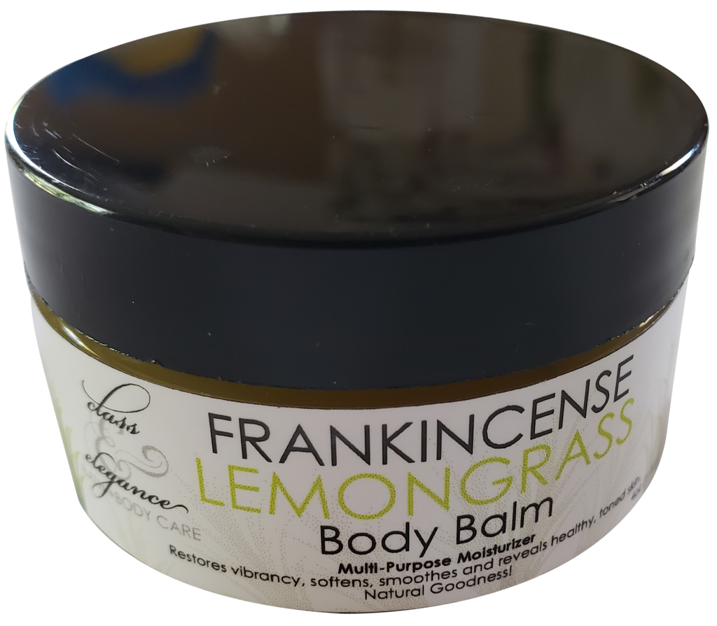 2oz Frankincense Lemongrass Body Balm