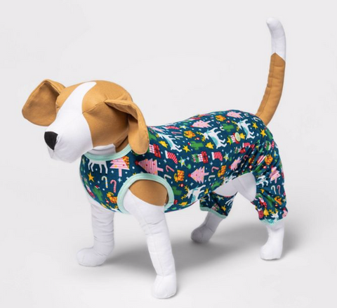 10 Christmas Pajamas Your Dog Needs This Year christmas plush dog toys patchwork pet dog blog christmas target