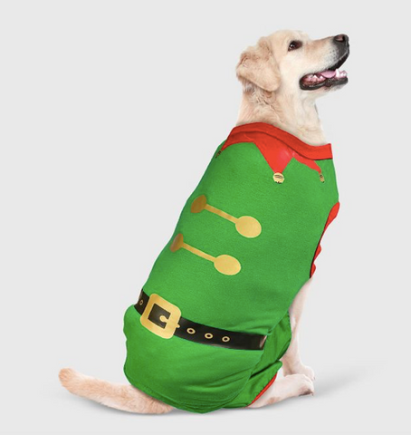 10 Christmas Pajamas Your Dog Needs This Year christmas plush dog toys patchwork pet dog blog elf dog pajamas