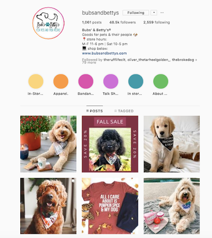 Bubs and Bettys Best women owned small business dog online boutiques patchwork pet dog blog