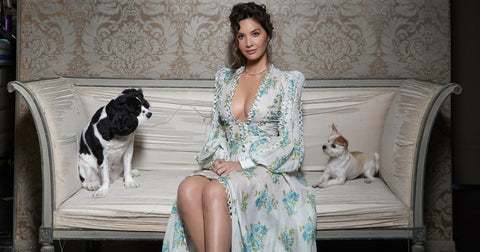 Olivia Munn and dogs celebrities who love their dogs dog blog