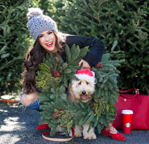 Christmas Card Ideas with your dog Patchwork pet dog blog The Sweetest Thing Lifestyle Blogger