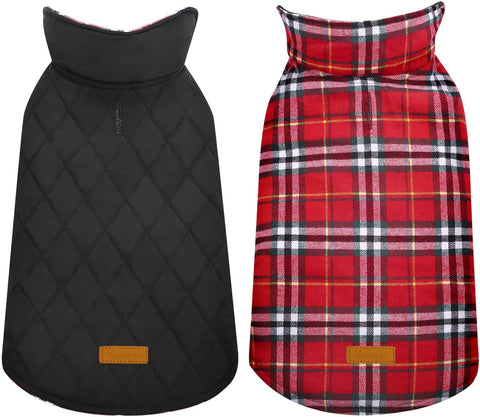 Christmas gifts for dogs under 20 patchwork pet dog blog dog waterpoof jacket