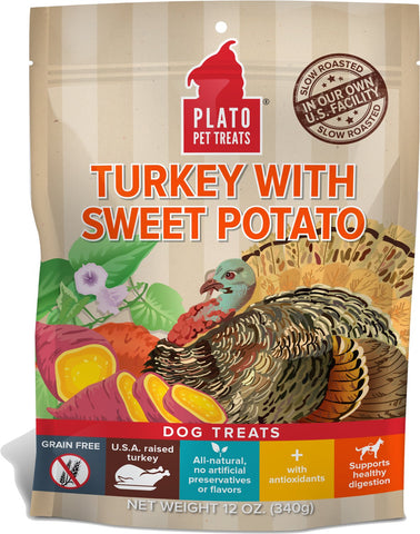 Fall gift guide for dog lovers plato turkey and cranberry dog treats patchwork pet dog blog