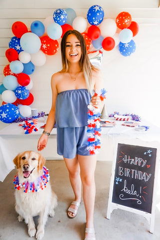 5 Examples of DIY Dog's Birthday Party Mad Pup Life Patchwork Pet