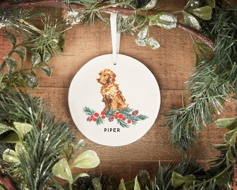 Personalized doodle christmas ornament holiday 2019 christmas and holiday gifts for goldendoodles and goldendoodle lovers  patchwork pet dog blog.jpg
