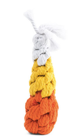 Patchwork Pet dog blog fall gift guide for the dog lovers Candy corn rope dog toy harry barker