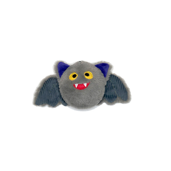 Halloween trendy plush dog toys vampire Bat pricklet ball patchwork pet plush dog toys