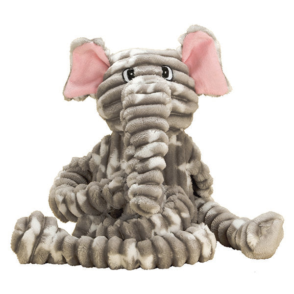 Patchwork Pet Tug Elephant Plush Dog Toy