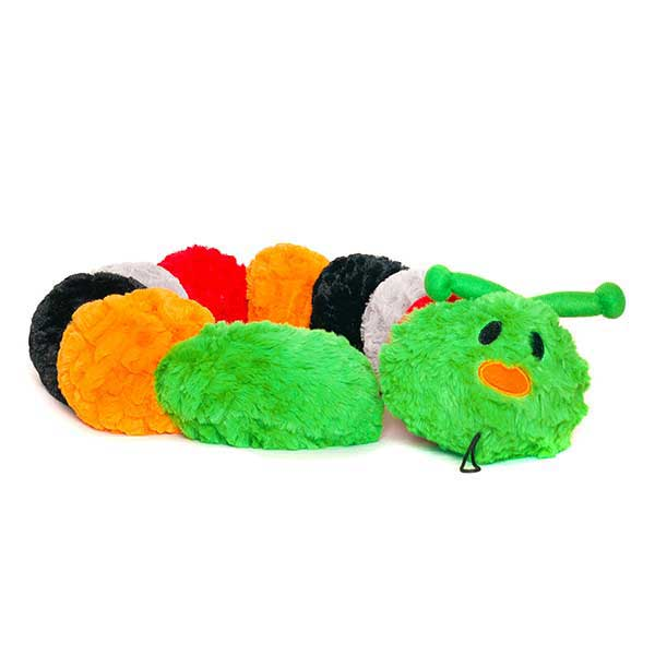 Halloween plush dog toy Caterpillar fall dog toy