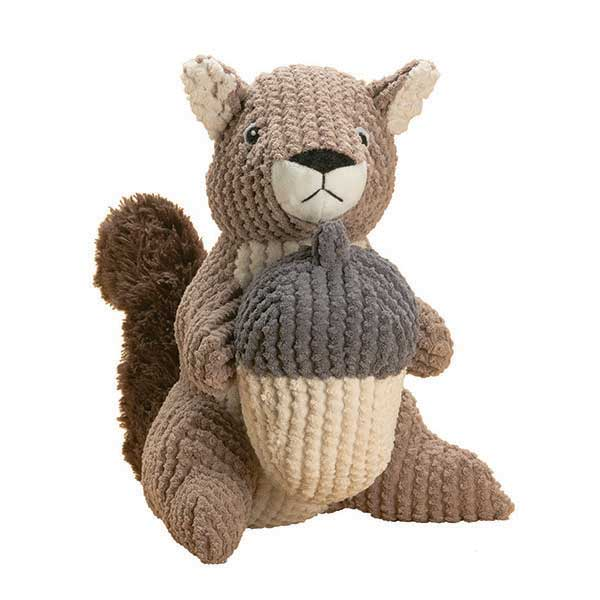 Merle the squirrel interactive dog toys by patchwork pet