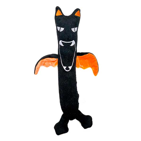 Halloween trendy plush dog toys Bat stick patchwork pet plush dog toys