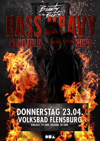 Ticket Volksbad Flensburg - 23.04.2020 - Bass Heavy Clubtour