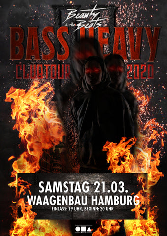 Ticket Waagenbau Hamburg - 21.03.2020 - Bass Heavy Clubtour