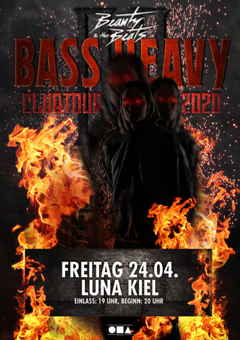 Ticket Luna Kiel - 24.04.2020 - Bass Heavy Clubtour