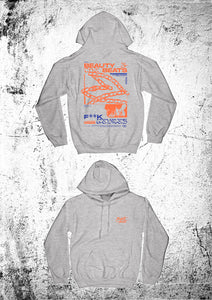 "Beauty & the Beats ""Energy"" Hoodie grey unisex"