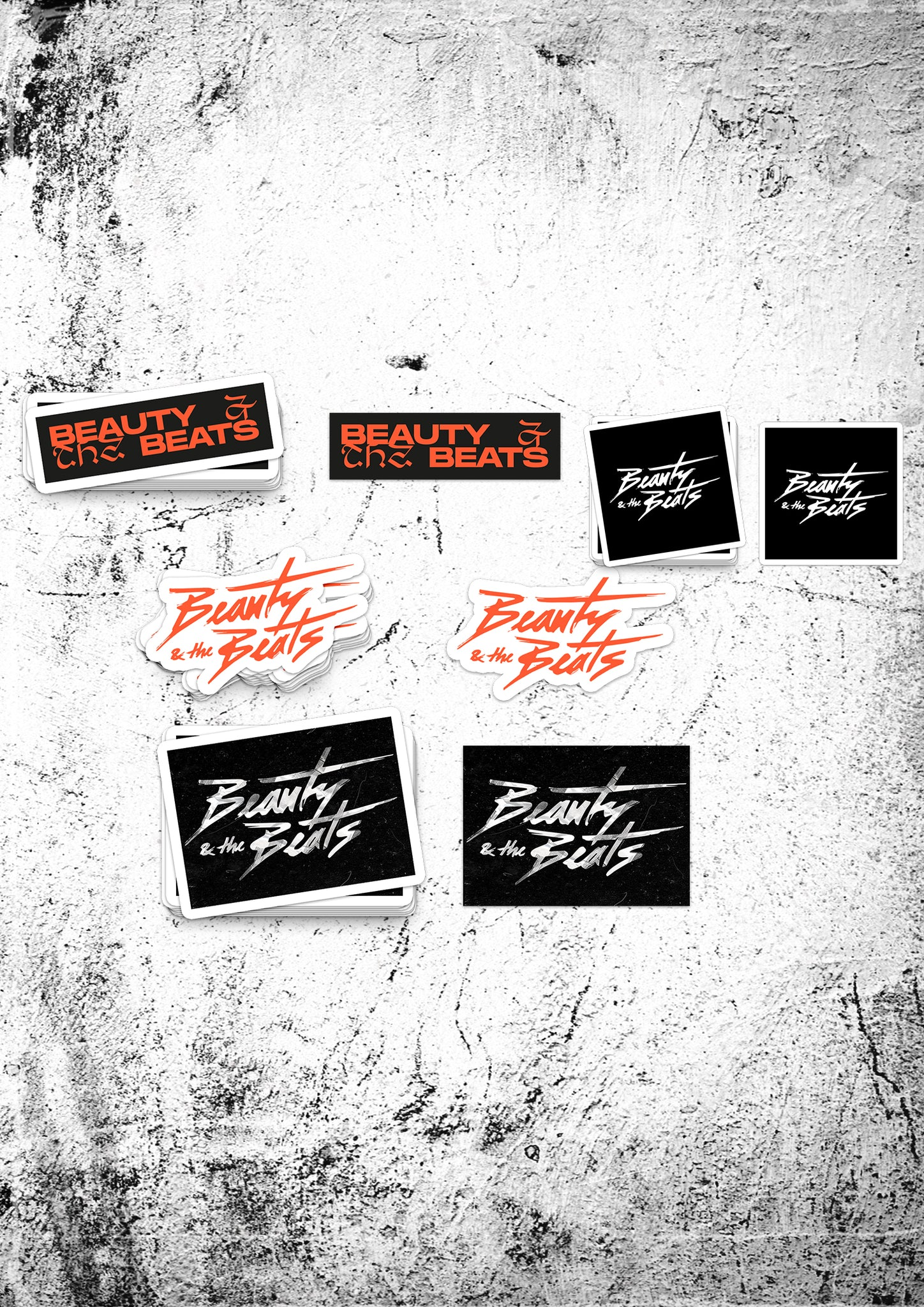 "Beauty & the Beats ""Energy"" Stickerpack"