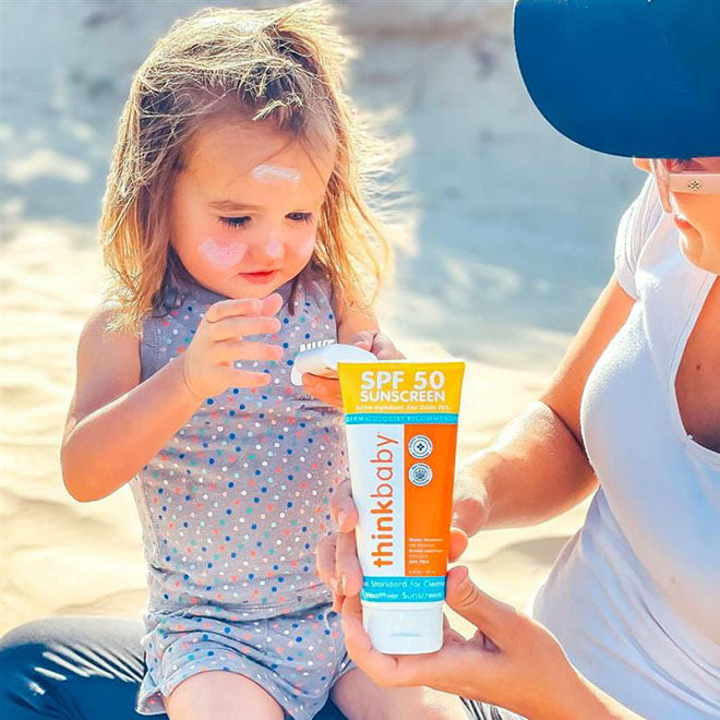 Non-Toxic Sunscreen for All Babies