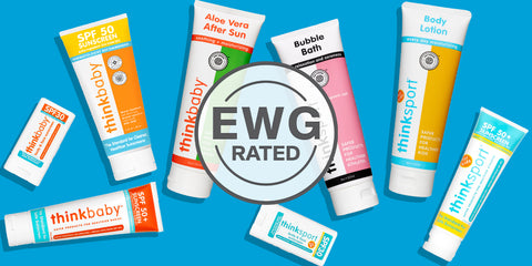 Think Sunscreen Rated Safe By Environmental Working Group (EWG)