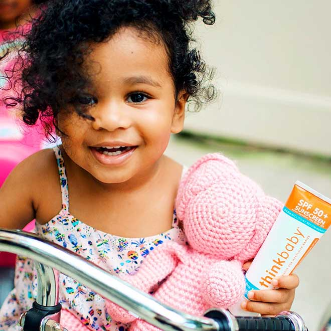 Non-Toxic Sunscreen for Darker Skin Tone Babies