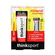 Thinksport Safe Sunscreen Combo Pack: 3oz SPF 50 Sunscreen + SPF 30 Sunscreen Stick