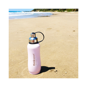 Thinksport Insulated Sports Bottle - 25oz (750ml) - Powder Coated - Lt. Pink