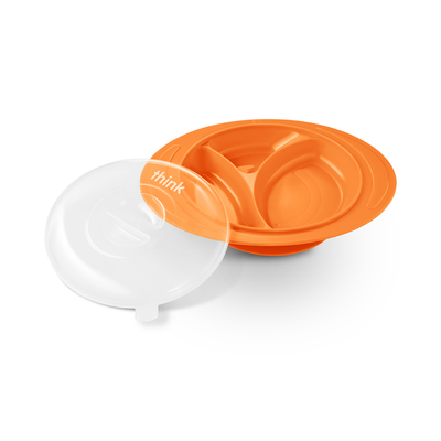 ThinkSaucer Suction Plate - Orange