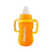 Neoprene Thermal Bottle Sleeve - Orange