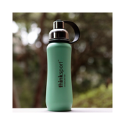 Thinksport Insulated Sports Bottle - 17oz (500ml) - Powder Coated - Mint Green