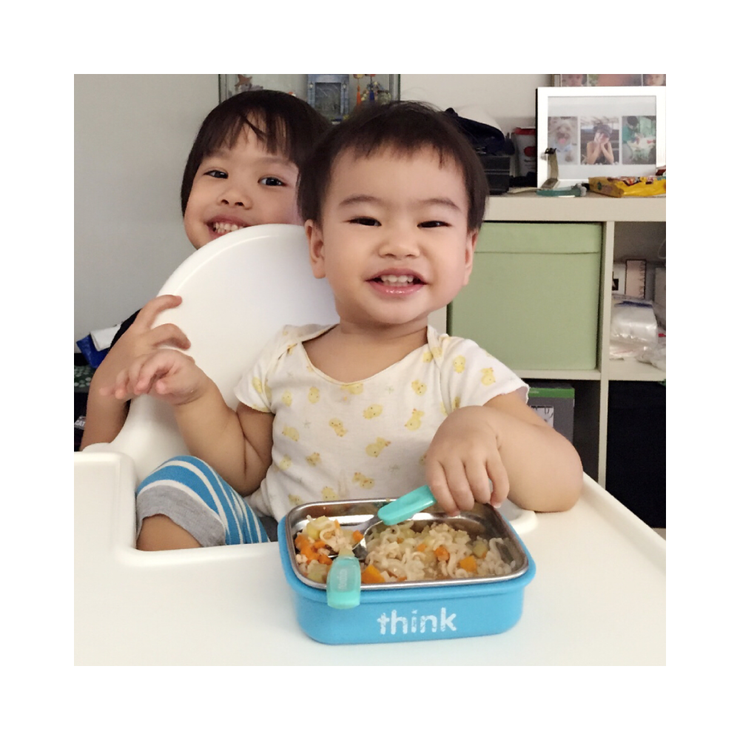 BPA Free - The Bento Box - Lt. Blue