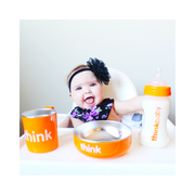The Complete BPA Free Feeding Set - Orange