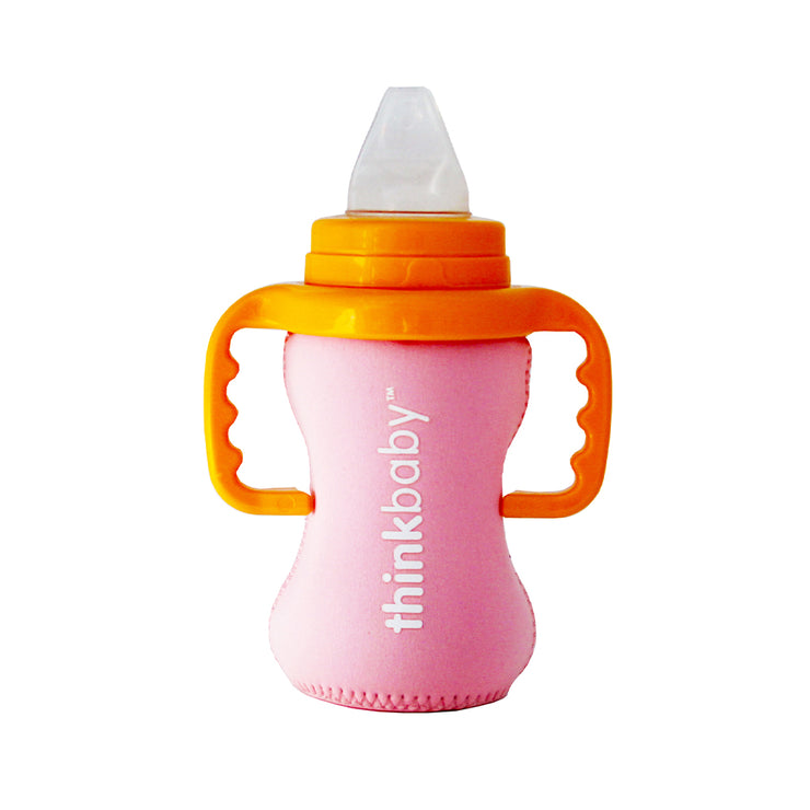 Neoprene Thermal Bottle Sleeve - Pink