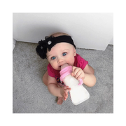 Converts Baby Bottle to Sippy Cup - Pink
