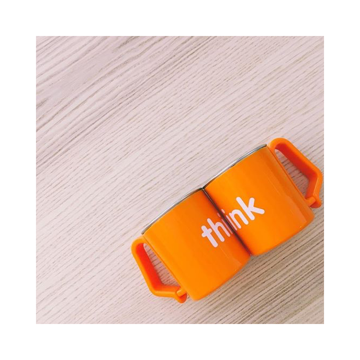 BPA Free Think Cup - Orange