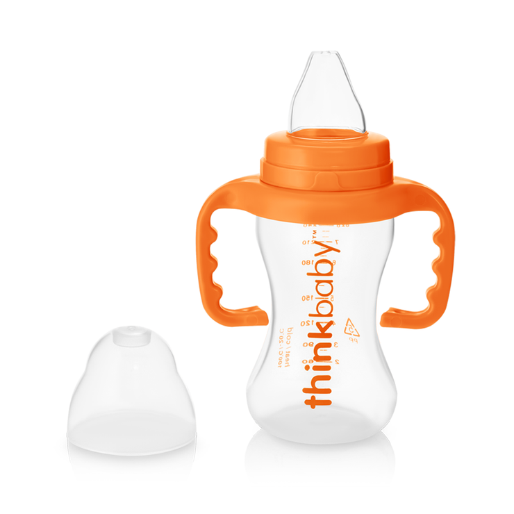 The Sippy Cup (9oz) - Orange