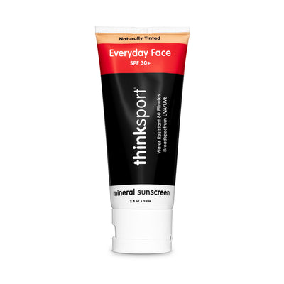 Thinksport Everyday Face Sunscreen (2oz) - Naturally Tinted