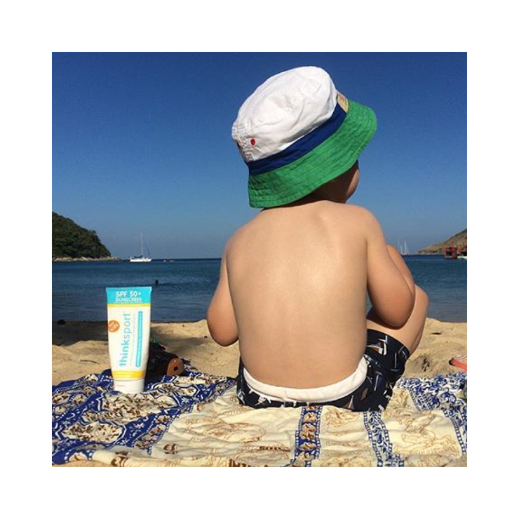 Thinksport Kids Safe Sunscreen SPF 50+ (6oz) - Family Size