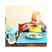 Converts Baby Bottle to Sippy Cup - Lt. Blue