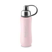 Thinksport Insulated Sports Bottle - 17oz (500ml) - Powder Coated - Lt. Pink