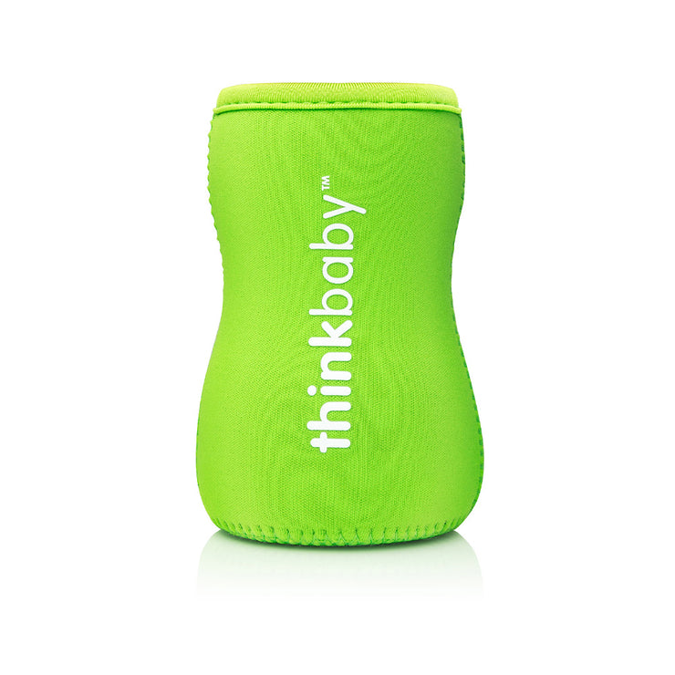 Neoprene Thermal Bottle Sleeve - Lt Green