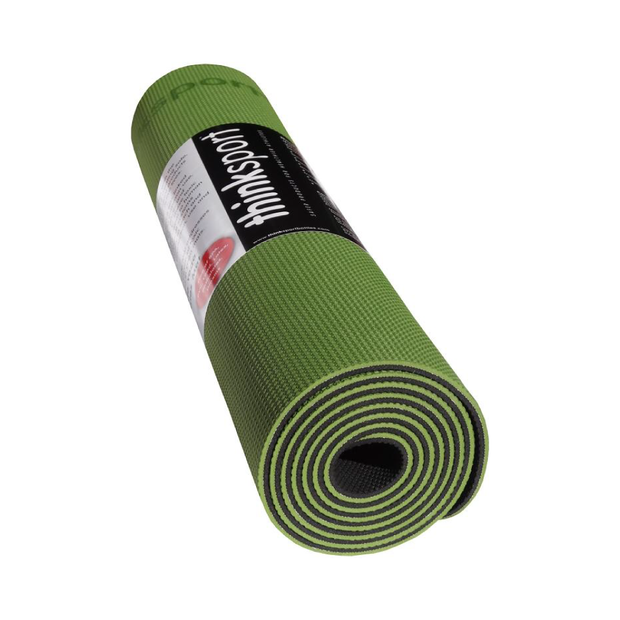 Thinksport Yoga / Pilates Mat - The Safe Mat - Green