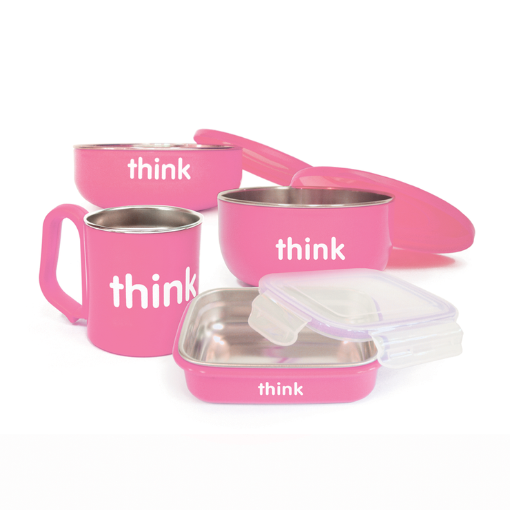 The Complete BPA Free Feeding Set Pink