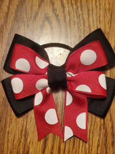 Minnie Mouse Inspired Hair Bow/Hair Accessory
